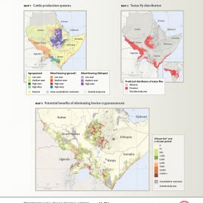 New map: Benefits of controlling trypanosomosis in the Horn of Africa