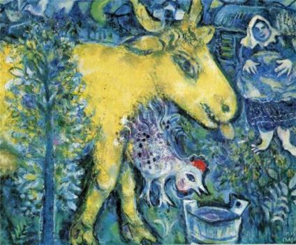 Chagall_TheFarmyard