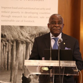 Help smallholders protect their environments and adapt to climate change––IFAD president challenges livestock researchers