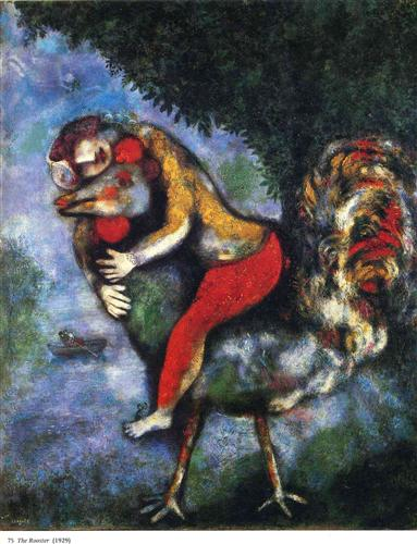 Chagall_The Rooster_1929