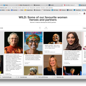 Some of our favourite WILD* women heroes andpartners