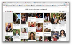 Take a look at some of ILRI's WILD women (aka 'Women in Livestock Development')