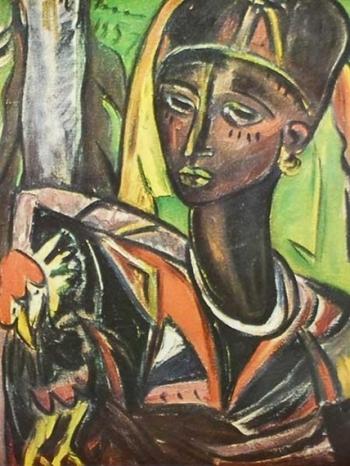 SternIrma_ZanzibarWomanWithChicken_1957