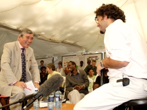 It's showtime: ILRI's series of 'Hard Talk' science interviews by Brian Perry
