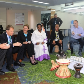 CGIAR and ILRI research in Ethiopia showcased to Swiss Development Cooperation visitors