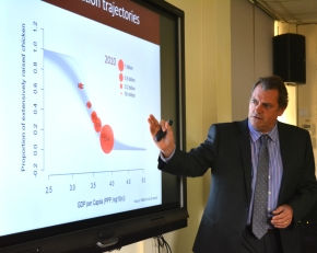 UK chief scientific adviser visits Kenya: Part 3—The dual rise of the global livestock sector and antimicrobialresistance