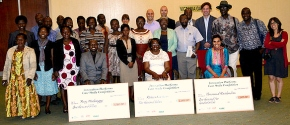 Winners of the Humidtropics 'Innovation Platforms Case Study' competition honoured