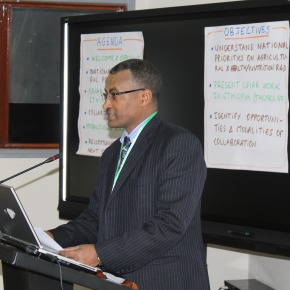 Ethiopia-CGIAR country consultation meeting identifies five action areas for enhancedcollaboration