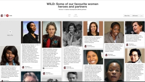 Some of our favourite WILD* women heroes and partners