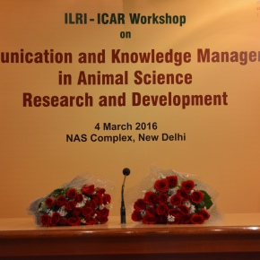 Getting the (science) word out: ILRI and ICAR share livestock communications and knowledge management practices