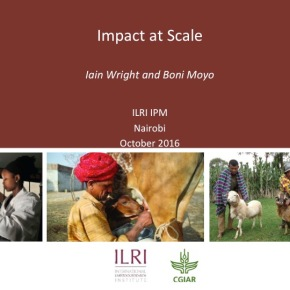 A first look at ILRI's new research programs: Impact at Scale