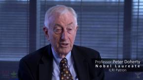 Medicine Nobel Laureate Peter Doherty is patron of the International Livestock ResearchInstitute