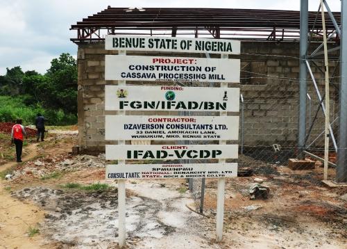 New factories in Nigeria transform cassava peels into livestock