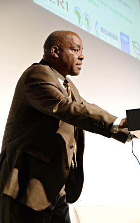Kenya's Robin Mbae on livestock and climate change at Berlin's Global Forum for Food and Agriculture