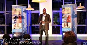 Aspen New Voices Fellows Andrew Mude and Jemimah Njuki tell of the moments their ag careers 'tookoff'