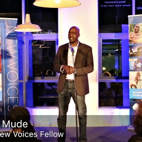 Aspen New Voices Fellows Andrew Mude and Jemimah Njuki tell of the moments their ag careers 'took off'