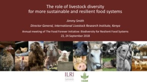 ILRI's Jimmy Smith on farm animal diversity for more sustainable and resilient global food systems