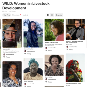 Take a look at the WILD women and girls conducting livestock science for development