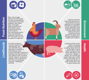 Livestock's future: An opportunity not athreat