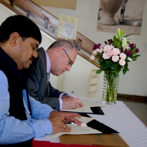 ILRI and India's National Institute of Animal Biotechnology to identify potential areas of research collaborations  in livestock genetics and animal health