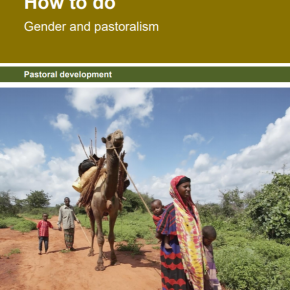 A new 'How-to-Do Note' provides guidance on designing and implementing 'gender and pastoralism' projects