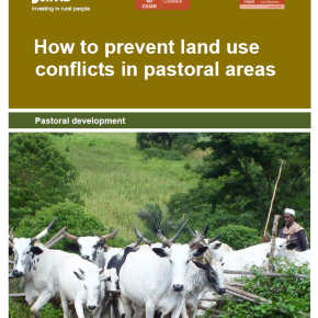 A new 'How-To-Do' note provides guidance on addressing land-use conflicts in pastoral areas