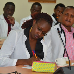 Four ILRI fellows attend World Food Prize symposium (virtually)
